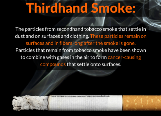 Ever hear of third hand smoke?