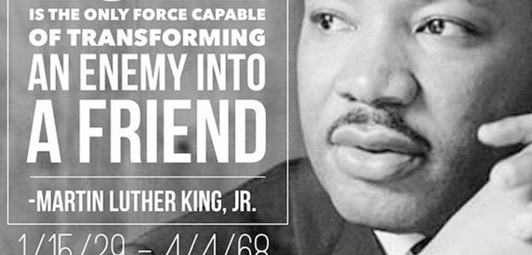 Thank You Dr. Martin Luther King Jr.