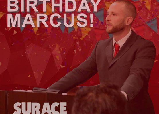 Happy Birthday Marcus Smith