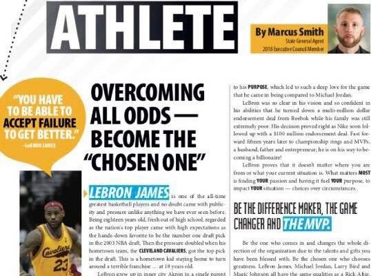 Marcus Smith Article: Business Athlete